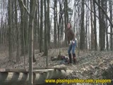 משתינה ביער