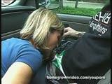 מוצצת למקועקע באוטו