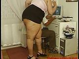 אישה שמנה עם המאהב שמזיין אותה חזק מאוד