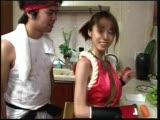 סינית מזדיינת עם חבלים וגבר